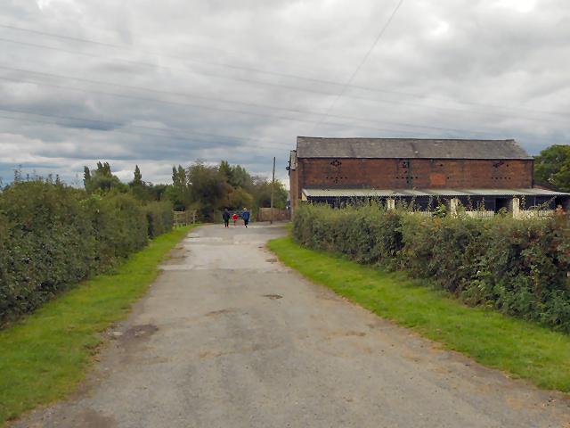 Shams Farm, Shakerley Lane