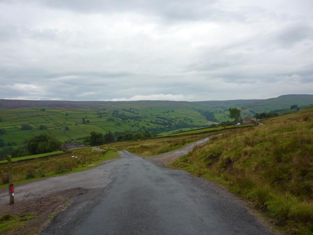 Crossroads north of Feetham