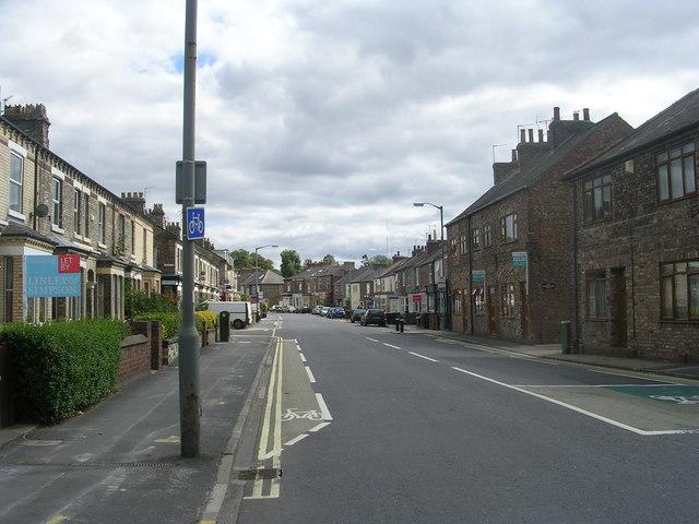 Heslington Road - Barbican Road