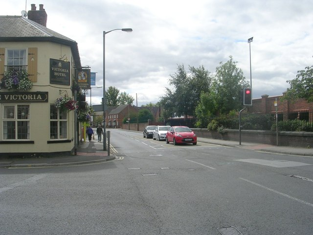Cemetery Road - viewed from Heslington Road