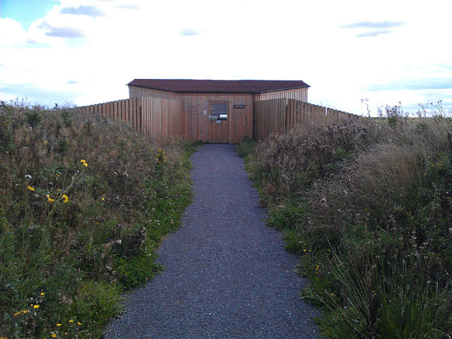 Entrance to the 360 Hide