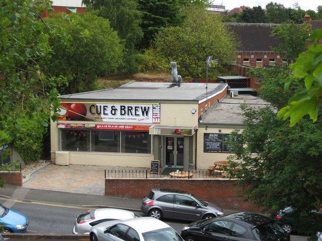 Cue & Brew Sports Bar, Prospect Hill, Kidderminster