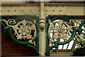 TG1543 : Decorative supporting roof brackets, Sheringham Station by Julian Osley