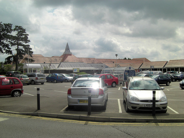 Tesco superstore on the Hythe Road