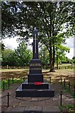 SO8483 : The new War Memorial, High Street, Kinver by P L Chadwick