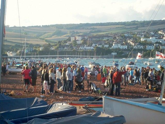 Spectators, Shaldon Regatta