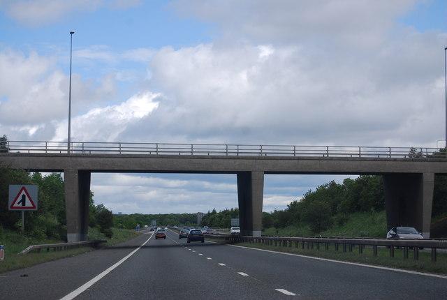 Overbridge, Junction 62, A1(M)