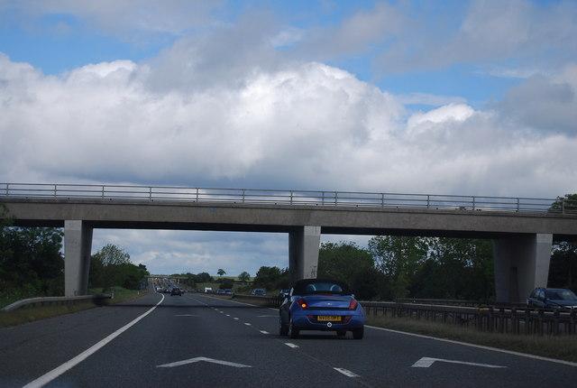 Cocken Road bridge, A1(M)