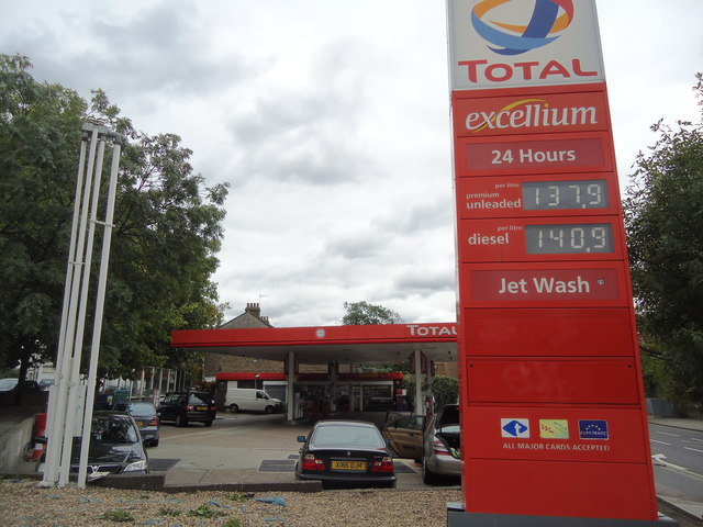Petrol station, Kensal Green