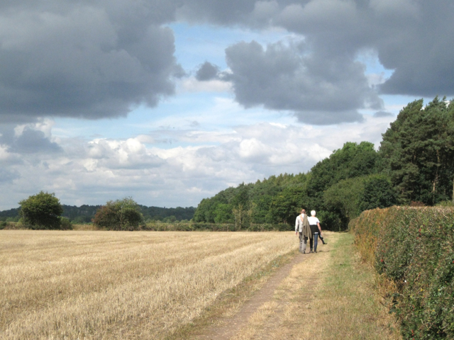 A Sunday morning walk from Berkswell