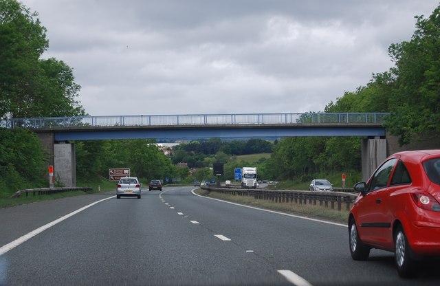 Footbridge over the A1(M)