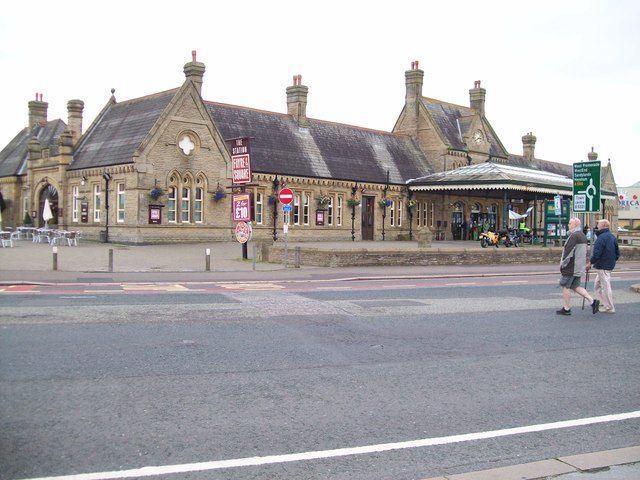 The Station on Morecambe promenade
