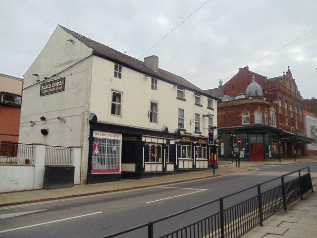 The Black Horse Public House, Westgate, Wakefield