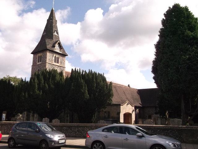 St Mary the Virgin Church, Hayes (2)
