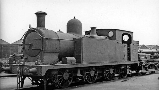 Swindon Works: withdrawn ex-Barry Railway 0-6-2T as Works shunter