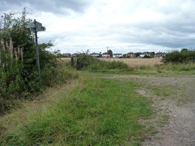 Junction on Bog Lane