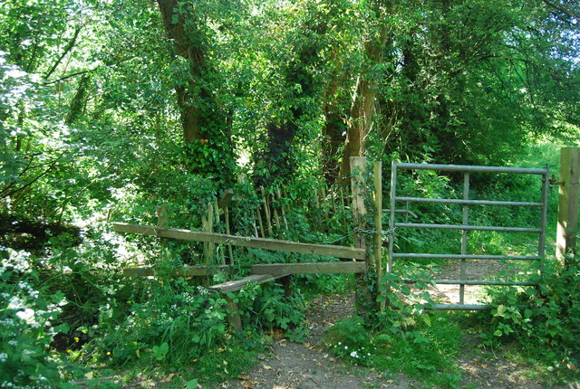 Stile by the Byway to Winfield Lane