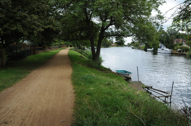 River Thames near Staines