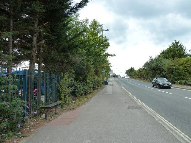Seat in Bishopstoke Road