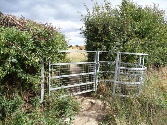 Kissing gate on the Leeds Country Way