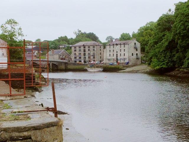 Old warehouses by the Teifi, Cardigan/ Aberteifi