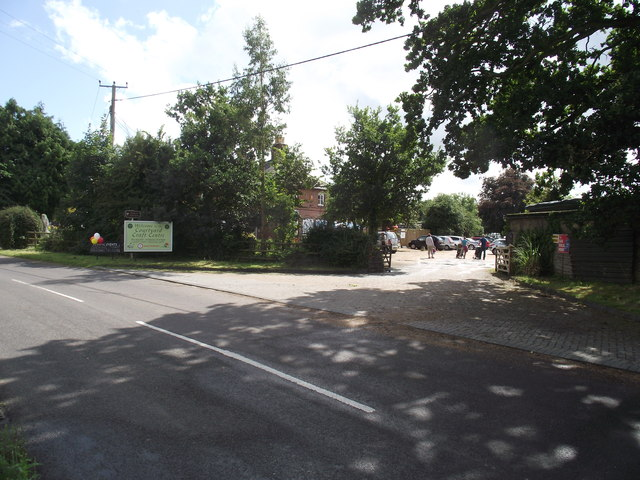 Entrance to the Courtyard Craft Centre