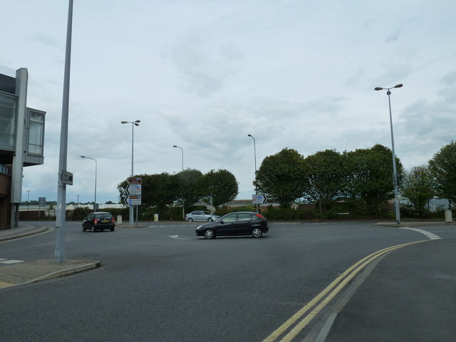 Looking from Blenheim Road into Southampton Road
