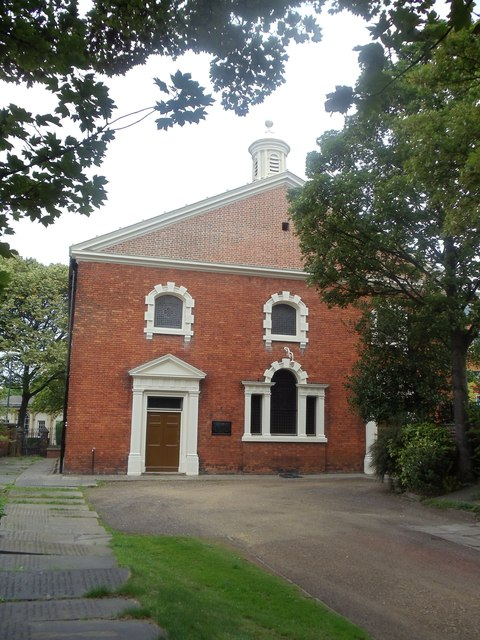 The frontage of Westgate Unitarian Chapel, Wakefield
