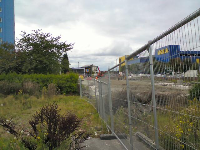 Site of Ashton tram terminus