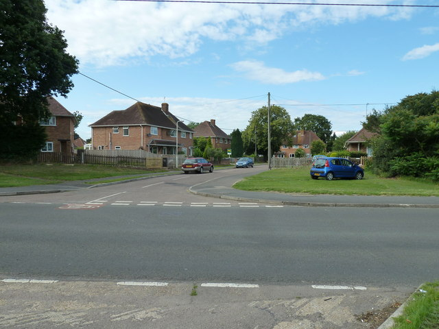 Looking from Water Lane into Bishop's Close