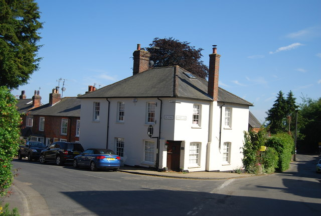 Cottage, corner of The Street and School Lane