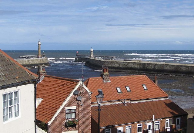 Harbour entrance from the church steps