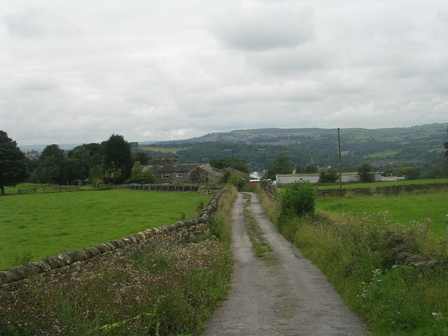 Driveway to Crow Trees Farm - Apperley Lane