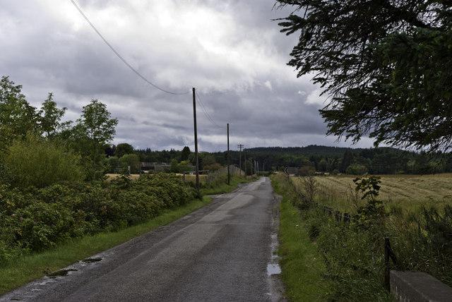 Minor road to Scotsburn