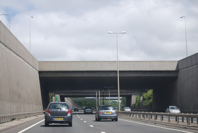A1 / A69 junction