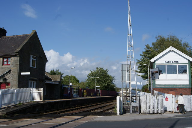 Bare Lane Station & Signal Box