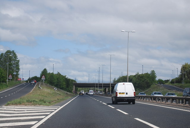 Gosforth junction, A1