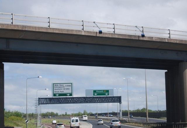 A1 near Hazelrigg