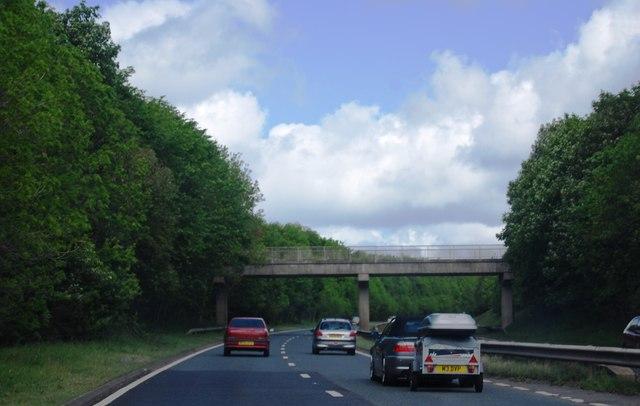 A1 near Mitford