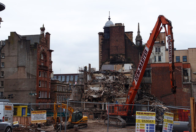 Demolition,Glasgow