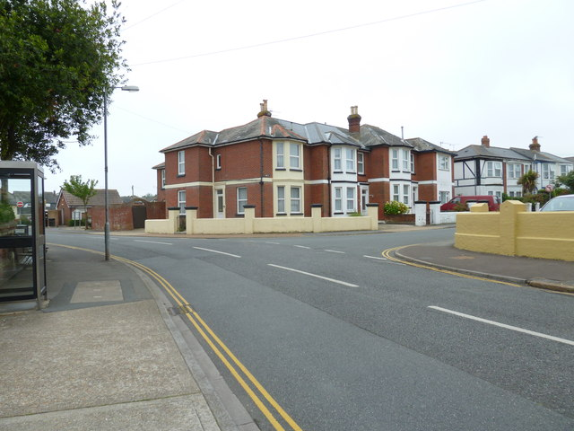 Looking across St John's Road towards Leed Street