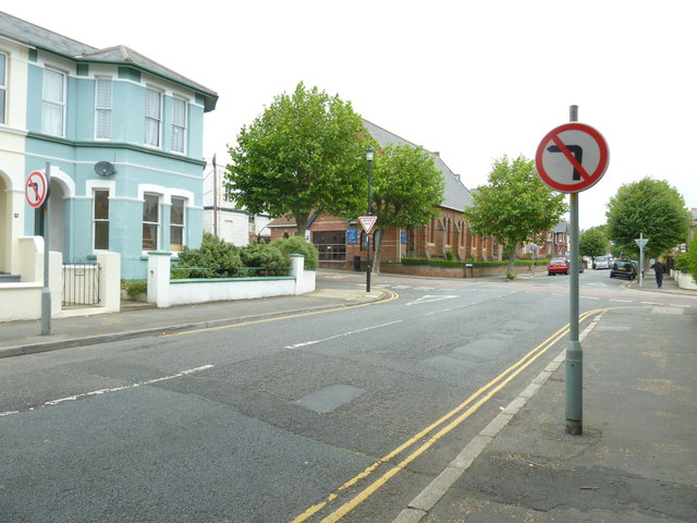 Road signs in St John's Road