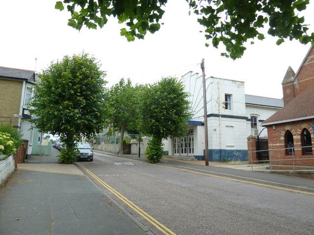 Former cinema in Station Avenue