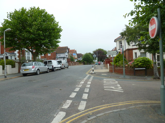 Junction of St John's and Victoria Roads