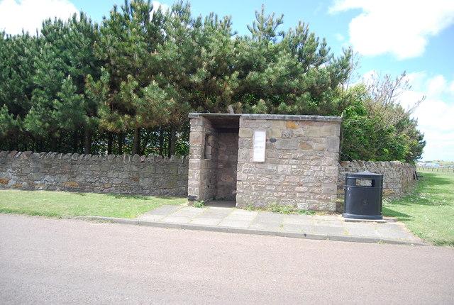 Bus shelter, Beadnell