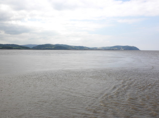 Mud and sand, Blue Anchor Bay
