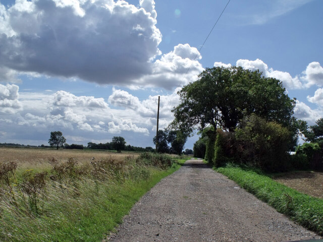 Haven Bank track, near Langrick