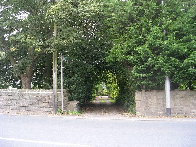 Footpath - Apperley Lane