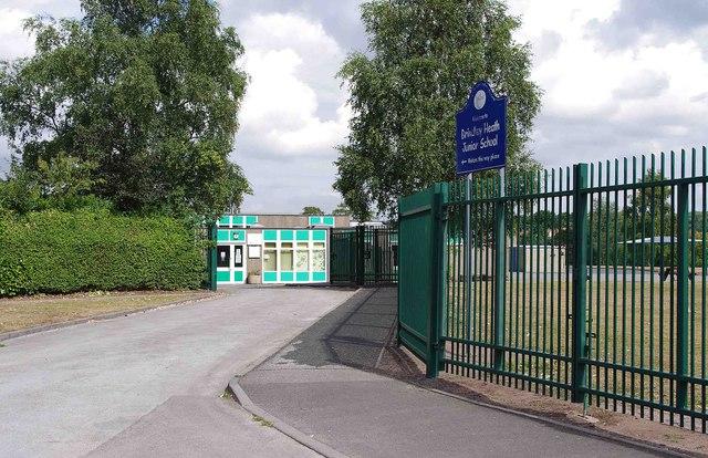 Entrance to Brindley Heath Junior School, Enville Road, Kinver