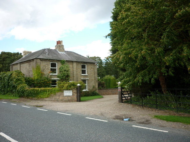 The farm office at Ranby Hall